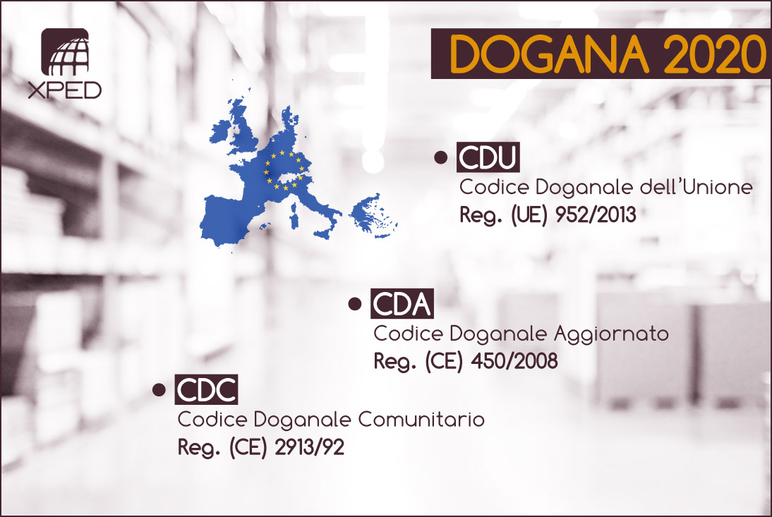 Codice Doganale Unione Europea