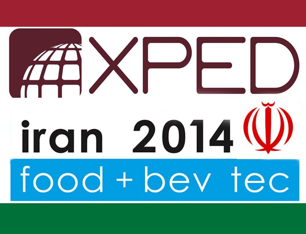 XPED per IRAN FOOD & BEV TEC 2016