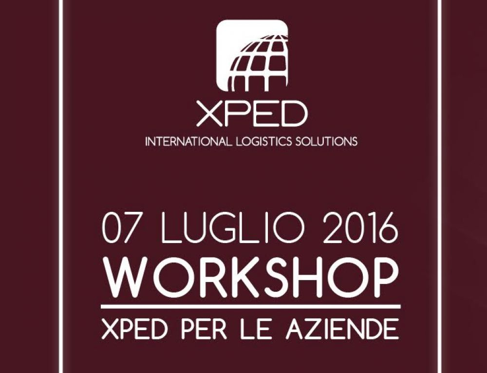 """WORKSHOP – """" XPED PER LE AZIENDE """""""