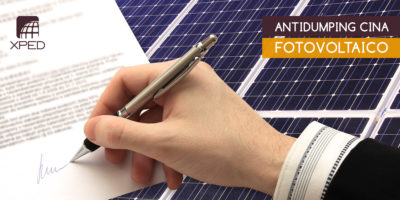 Stop Antidumping fotovoltaico cinese