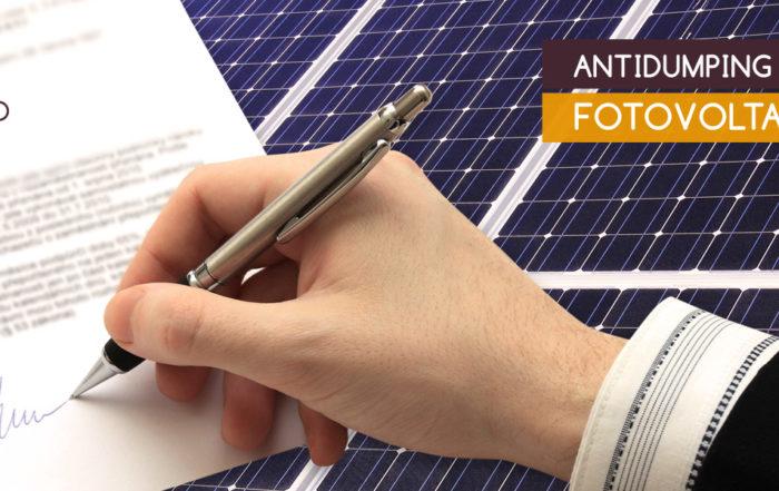 Stop Antidumping fotovoltaico cinese