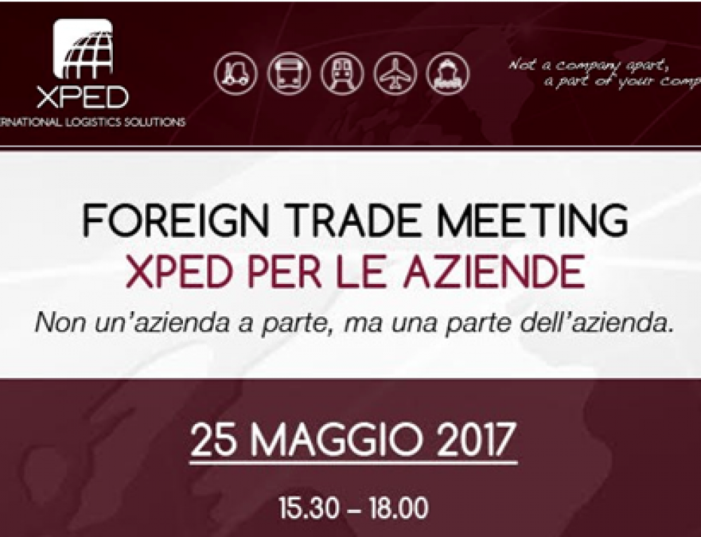 FOREIGN TRADE MEETING – 25/05/2017