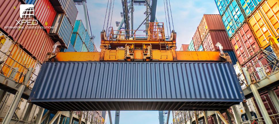 Trasporto container 40 piedi