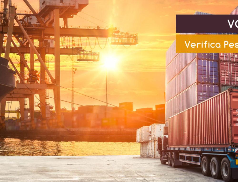 VGM Container – Verifica del peso dei Container